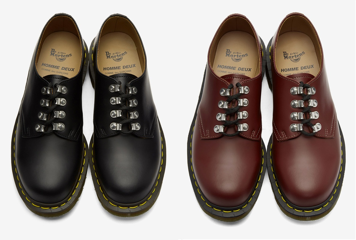 Cop the Latest CdG HOMME DEUX x Dr. Martens Collab Here