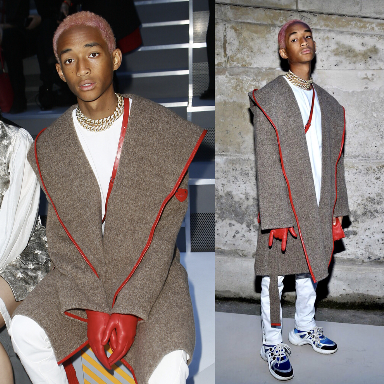 SPOTTED: Jaden Smith At The Louis Vuitton Show
