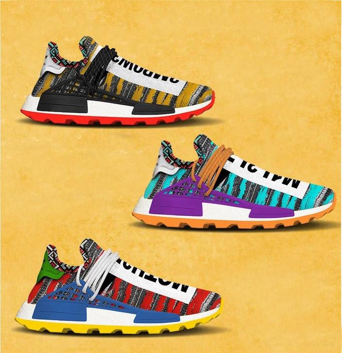 More Details Emerge Regarding The Pharrell Williams x adidas Originals Afro NMD Hu Pack