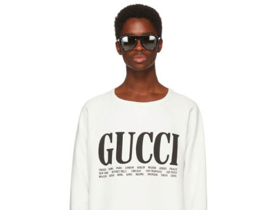 Brand-New Gucci SS18 at SSENSE