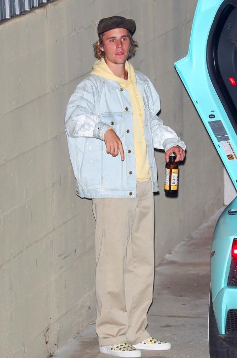 SPOTTED: Justin Bieber In Fear Of God, John Elliott and Vans