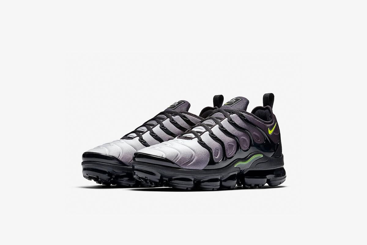 First Look At Nike's Vapormax Plus In Faded 'Black'