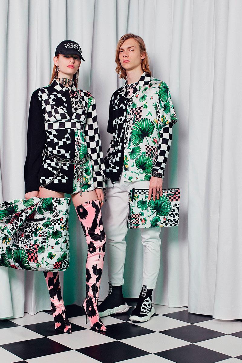 PFW: Versus Versace Autumn/Winter 2018 Collection