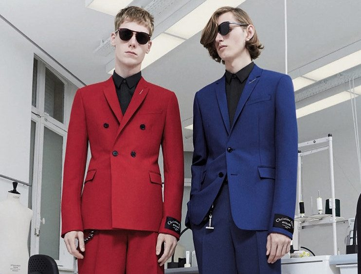 Dior Homme Deconstructs Tailoring In Pre-Fall 2018 Lookbook
