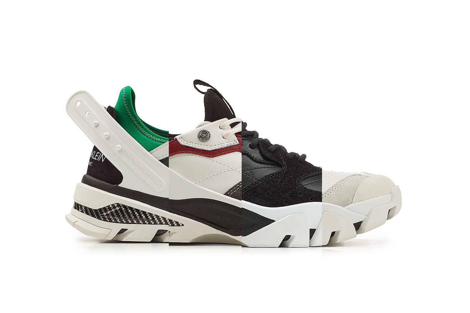 Calvin Klein's 205W39NYC Line Takes on the Chunky Trend for Carlos 10 Sneakers