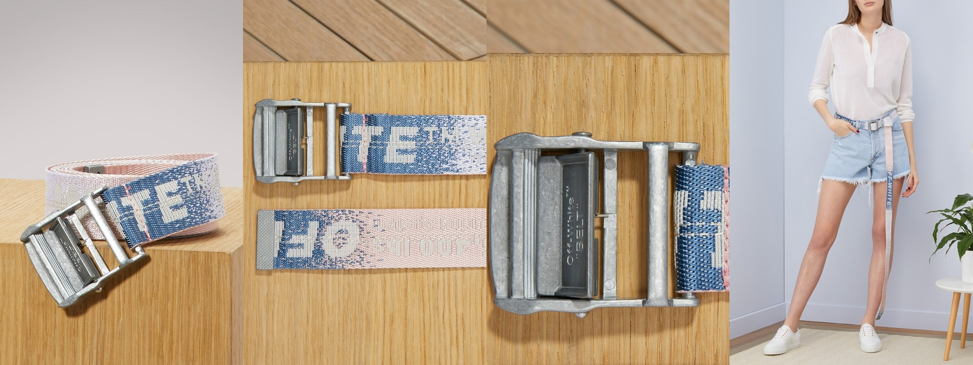 Introducing the Highly Exclusive Le Bon Marche x Off-White™ Industrial Belt