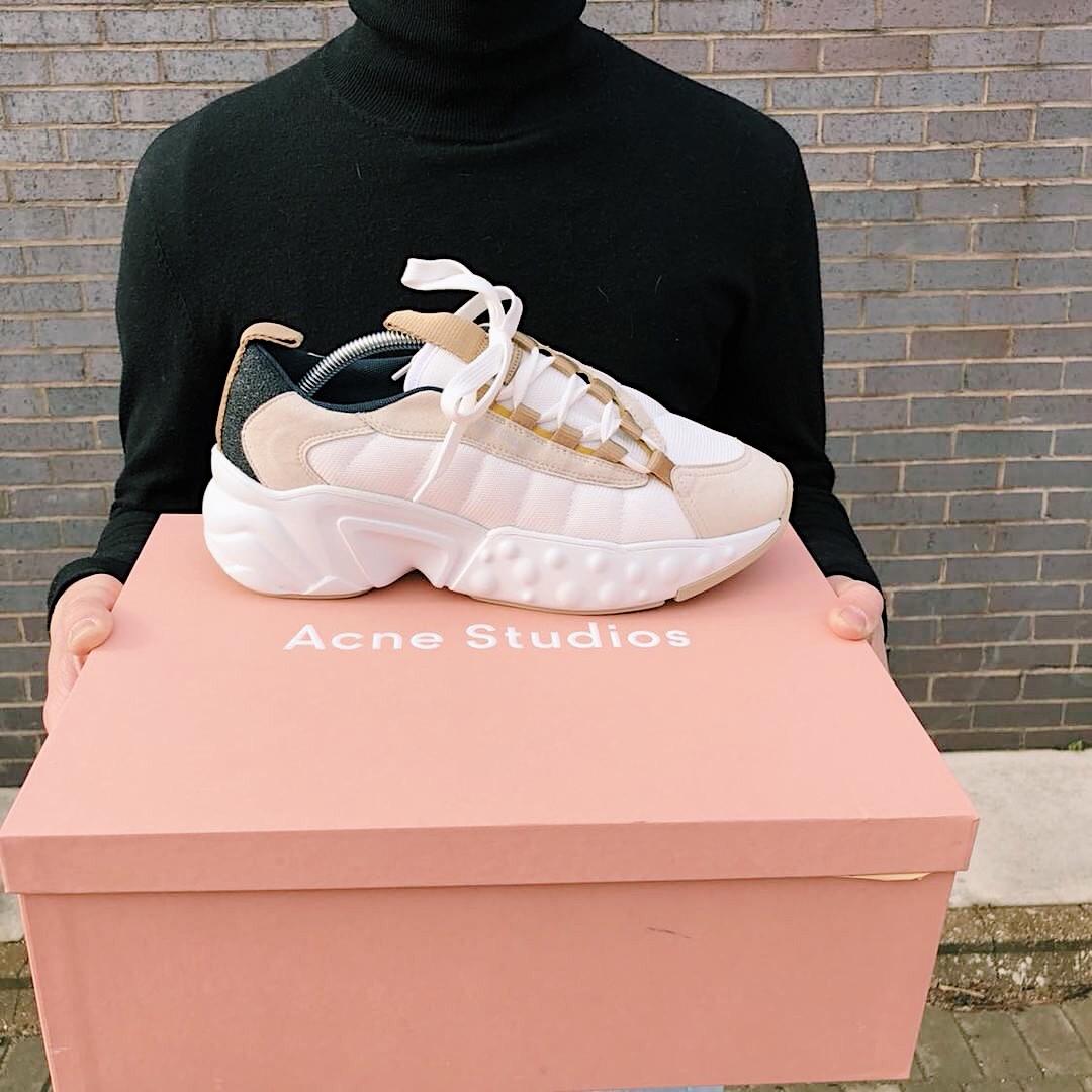PAUSE or Skip: Acne Studios White Sofiane Sneakers