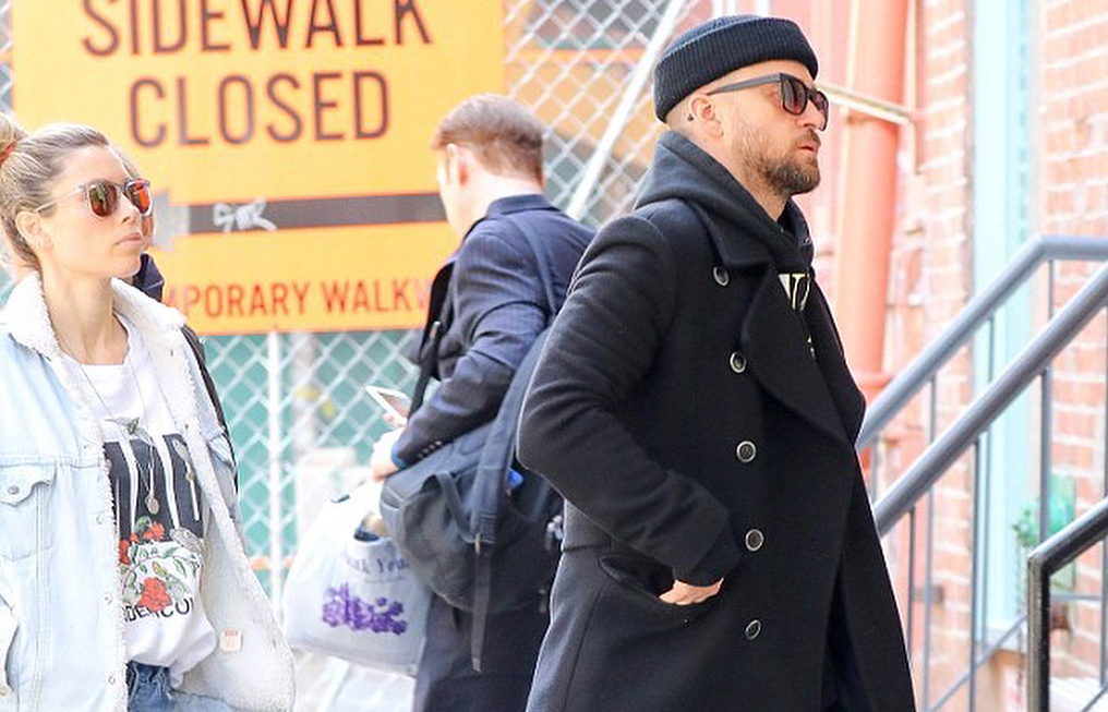 SPOTTED: Justin Timberlake and Jessica Biel Sporting Air Jordan 1s, Levis, UNDERCOVER and More