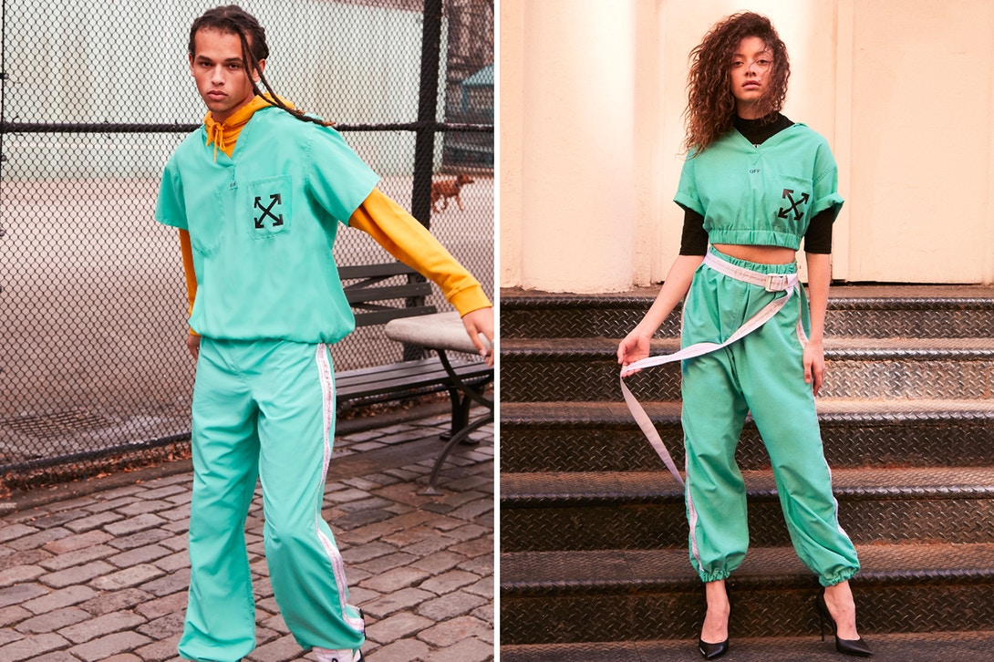 OFF WHITE & Equinox Team up on Tracksuit for Charity