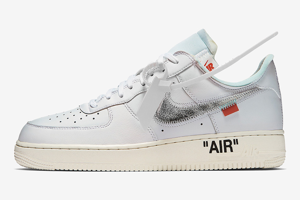 An OFF-WHITE x Nike Air Force 1 is Set to Release