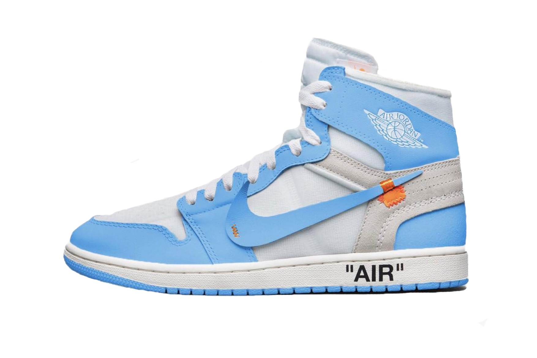 "The Virgil Abloh x Air Jordan 1 ""UNC"" Colorway Now has a Possible Release Date and Price"