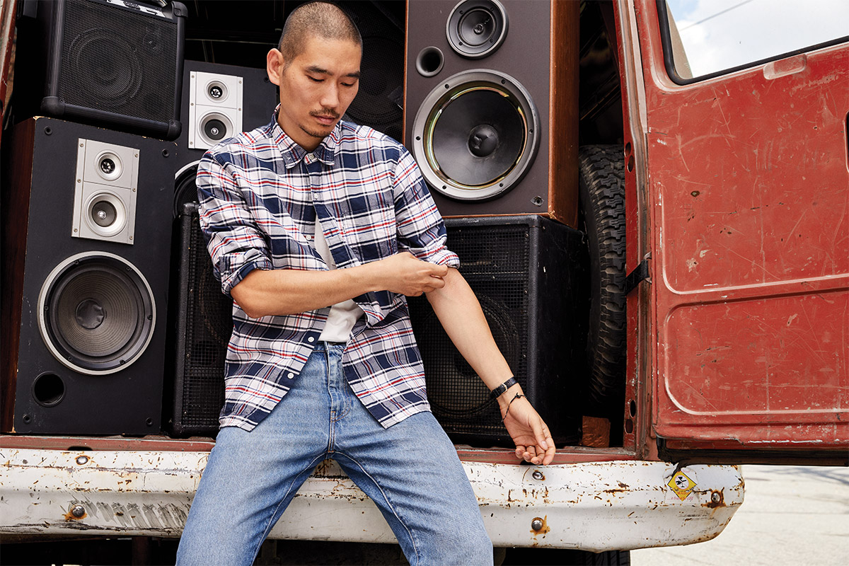 Levi's Draw Inspiration from the '80s and '90s Hip-Hop Scene in Latest Collection