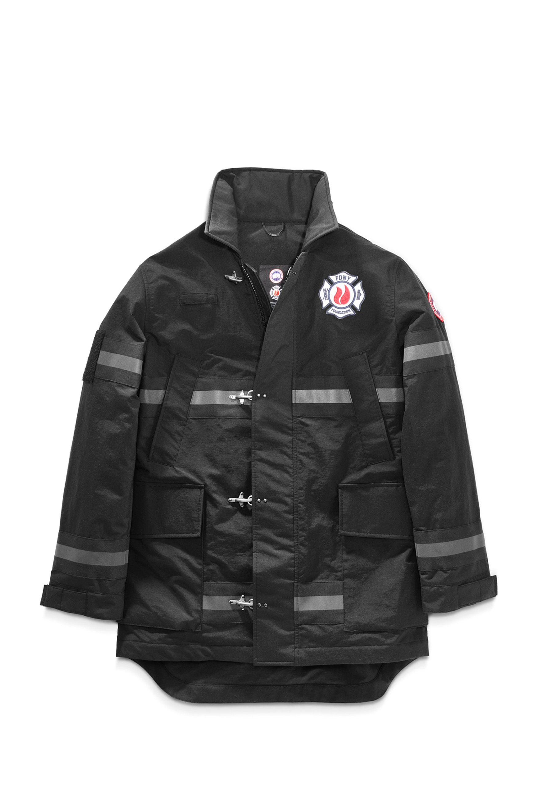 Canada Goose Joins FDNY in Collab