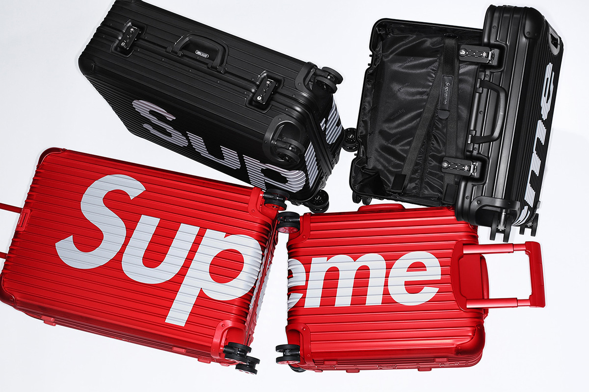 Supreme and RIMOWA Are Dropping a Collaborative Luggage Collection