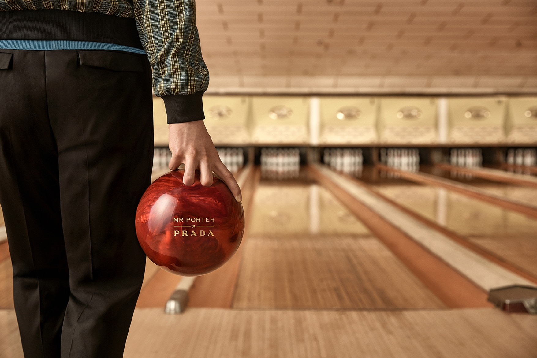 Prada and MR PORTER Draw Inspiration from Bowling in Exclusive Capsule