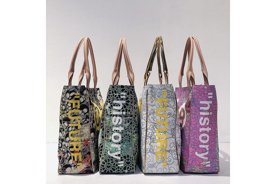 "Off-White™ x Takashi Murakami Tote Bag Collaboration: ""FUTURE HISTORY"""