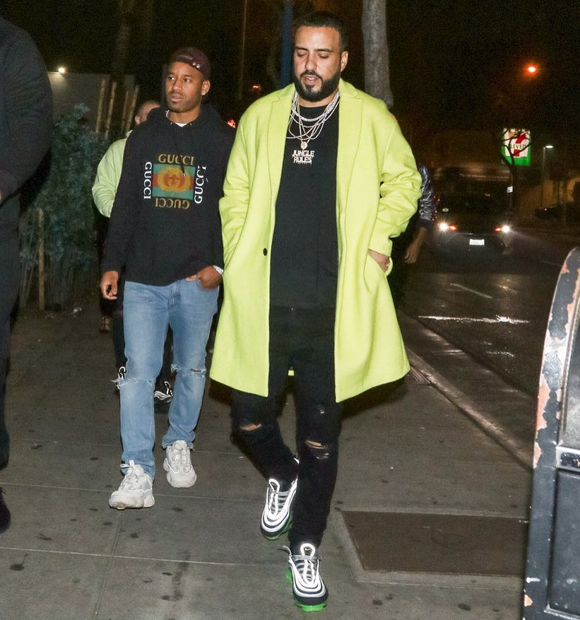 SPOTTED: French Montana and Preme Sport ASOS, Nike, Gucci and Adidas