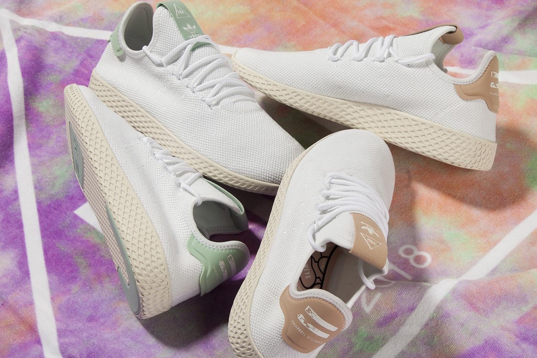 Pharrell & adidas Originals  Unveil New Tennis Hu Colourways