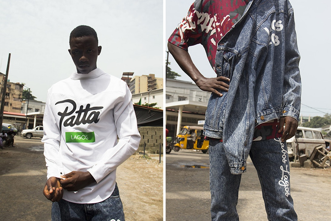 BBK collab with Patta on Homecoming Collection