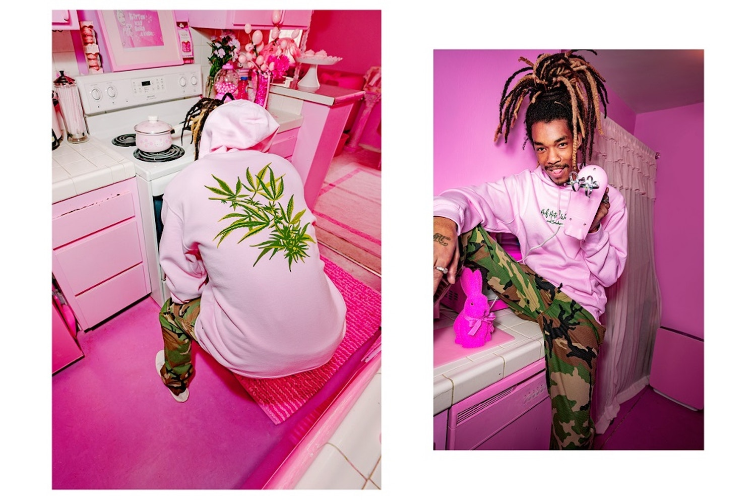 """HUF Unveil """"Hotel Smokers Lounge 420"""" Collection"""