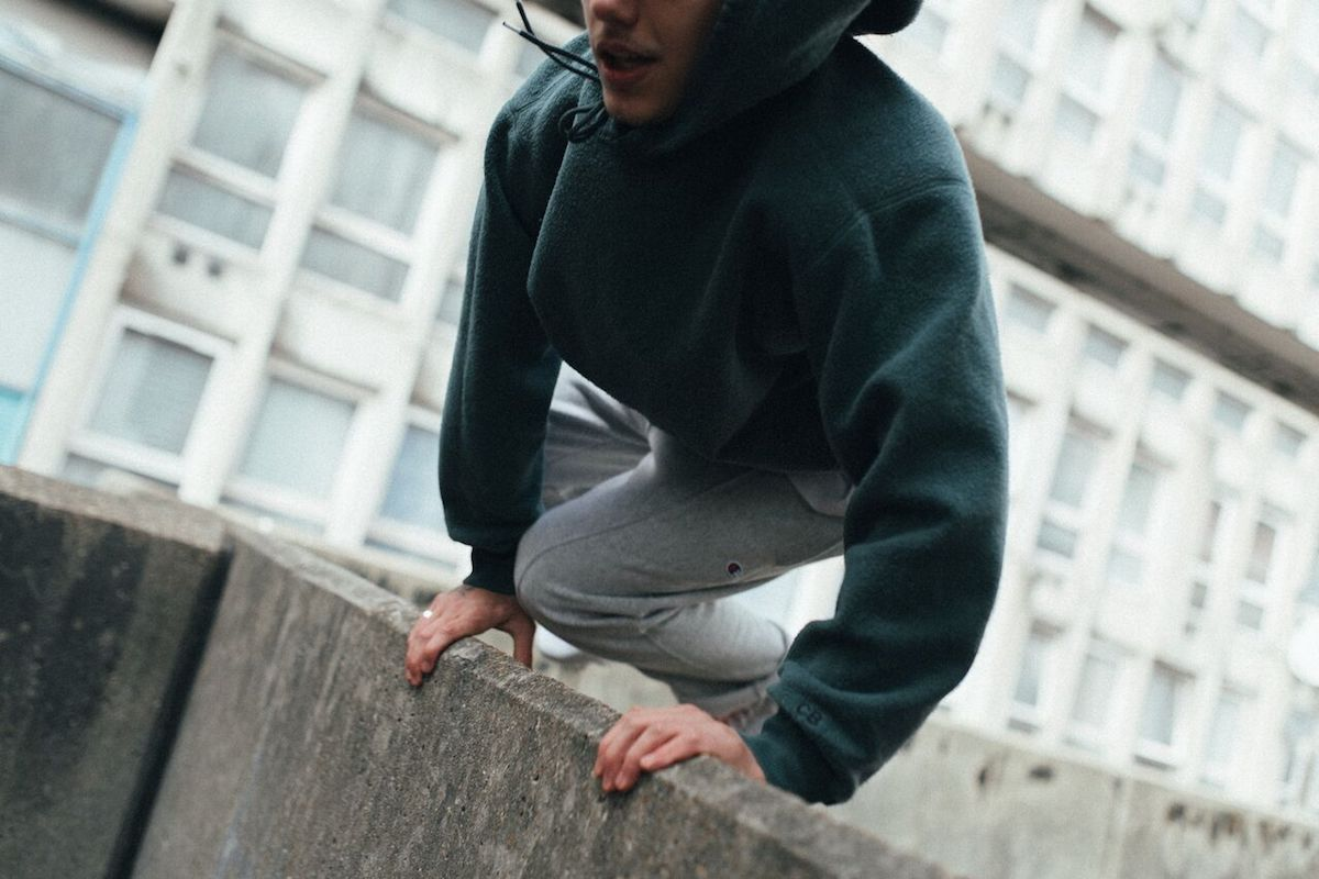 Cole Buxton Restock the 'Reversible Warm Up Hoodie'