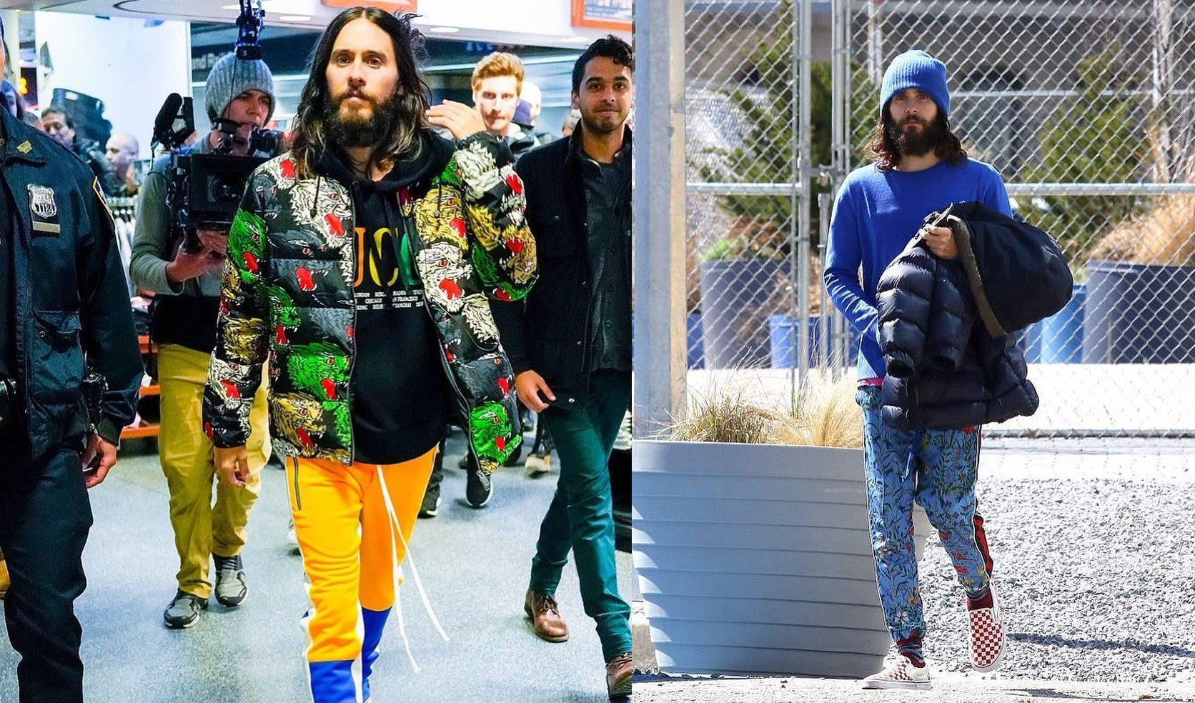 SPOTTED: Jared Leto in Gucci, Vans and Fear Of God