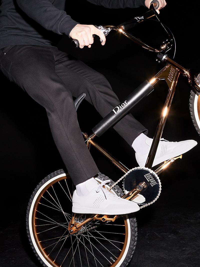 """Dior Homme x BOGARDE: The """"Gold BMX"""" Bike"""