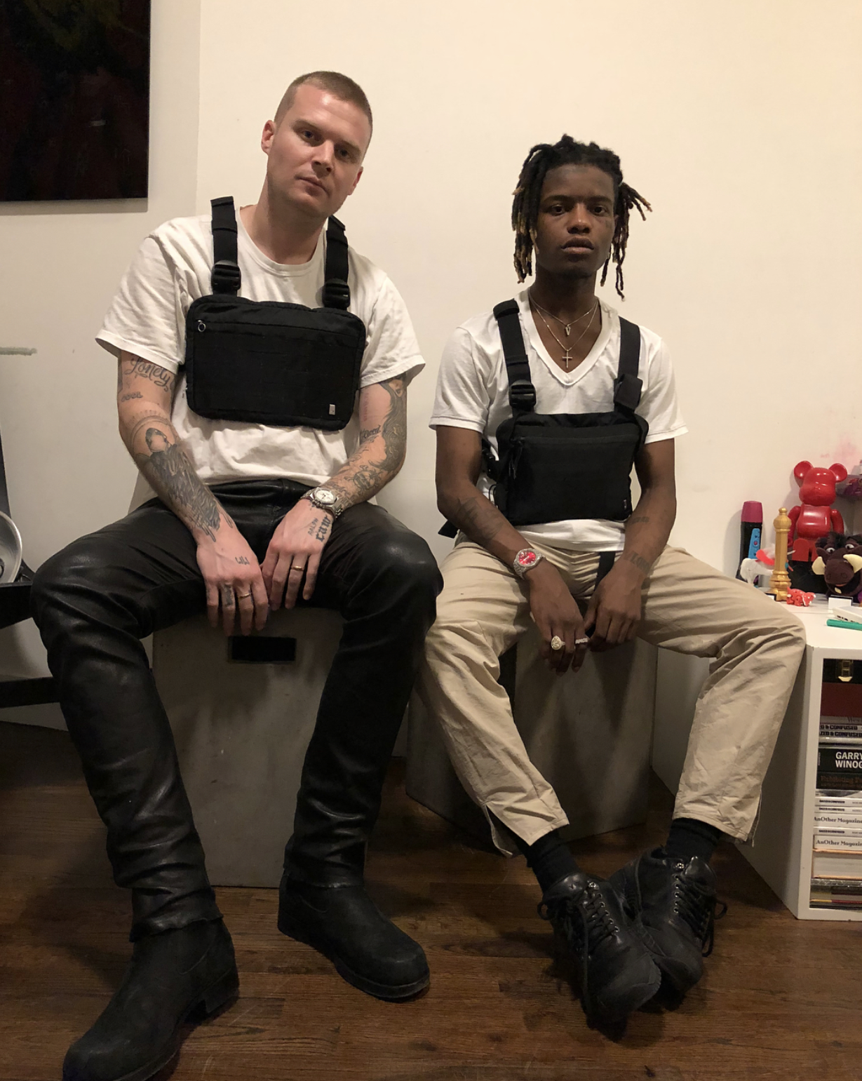 SPOTTED: Ian Connor in ALYX Studios Chest Rig Pouch