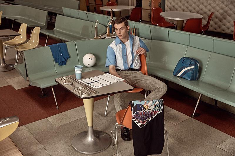 Mr Porter x Prada: Bowling Nostalgia