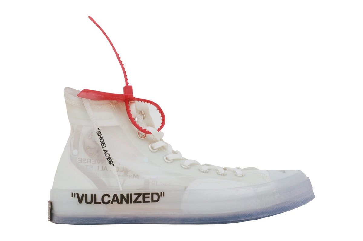 The OFF-WHITE™ Chuck Taylor is Finally Releasing