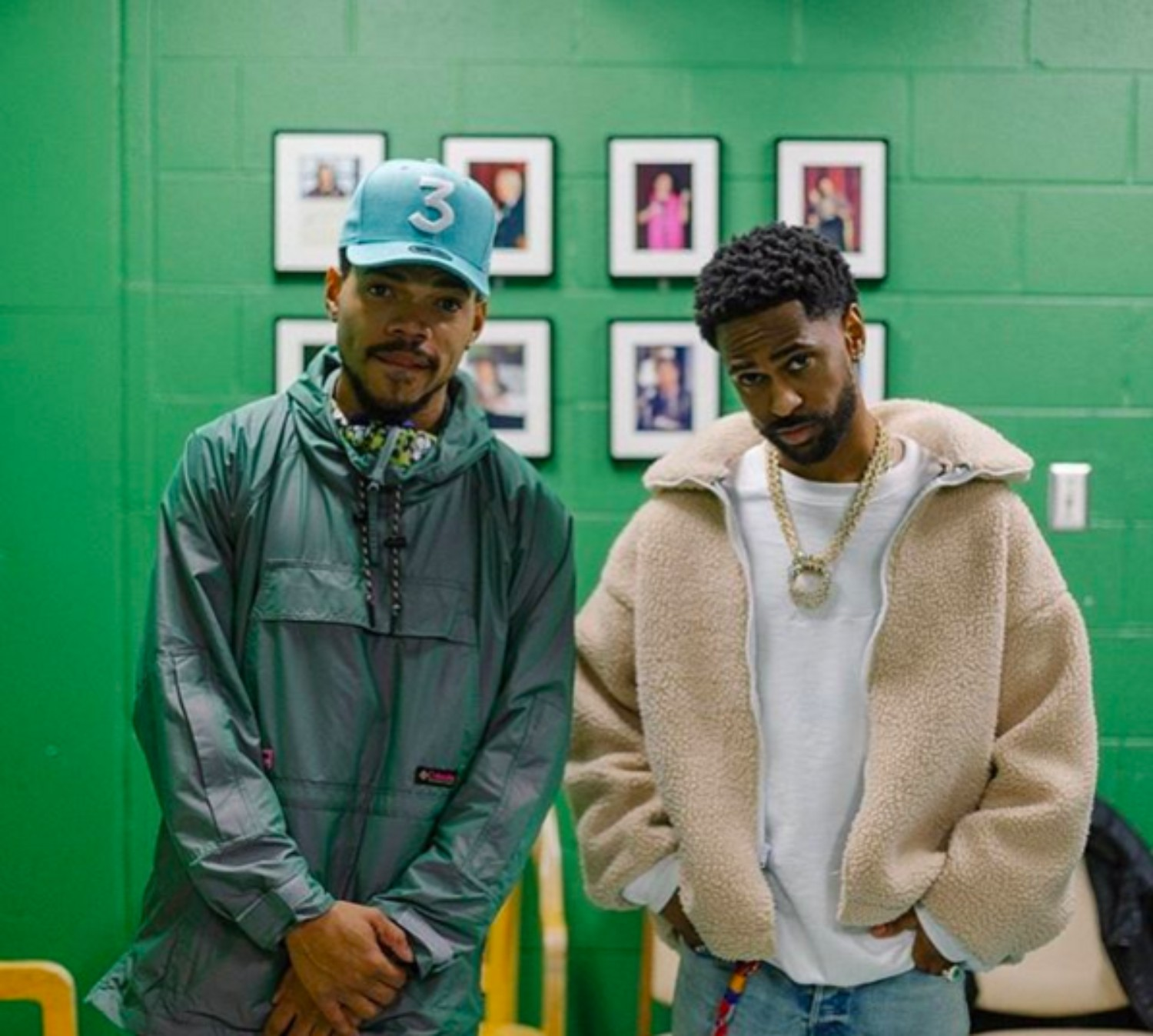 SPOTTED: Big Sean & Chance The Rapper in Skodia and Columbia x Opening Ceremony