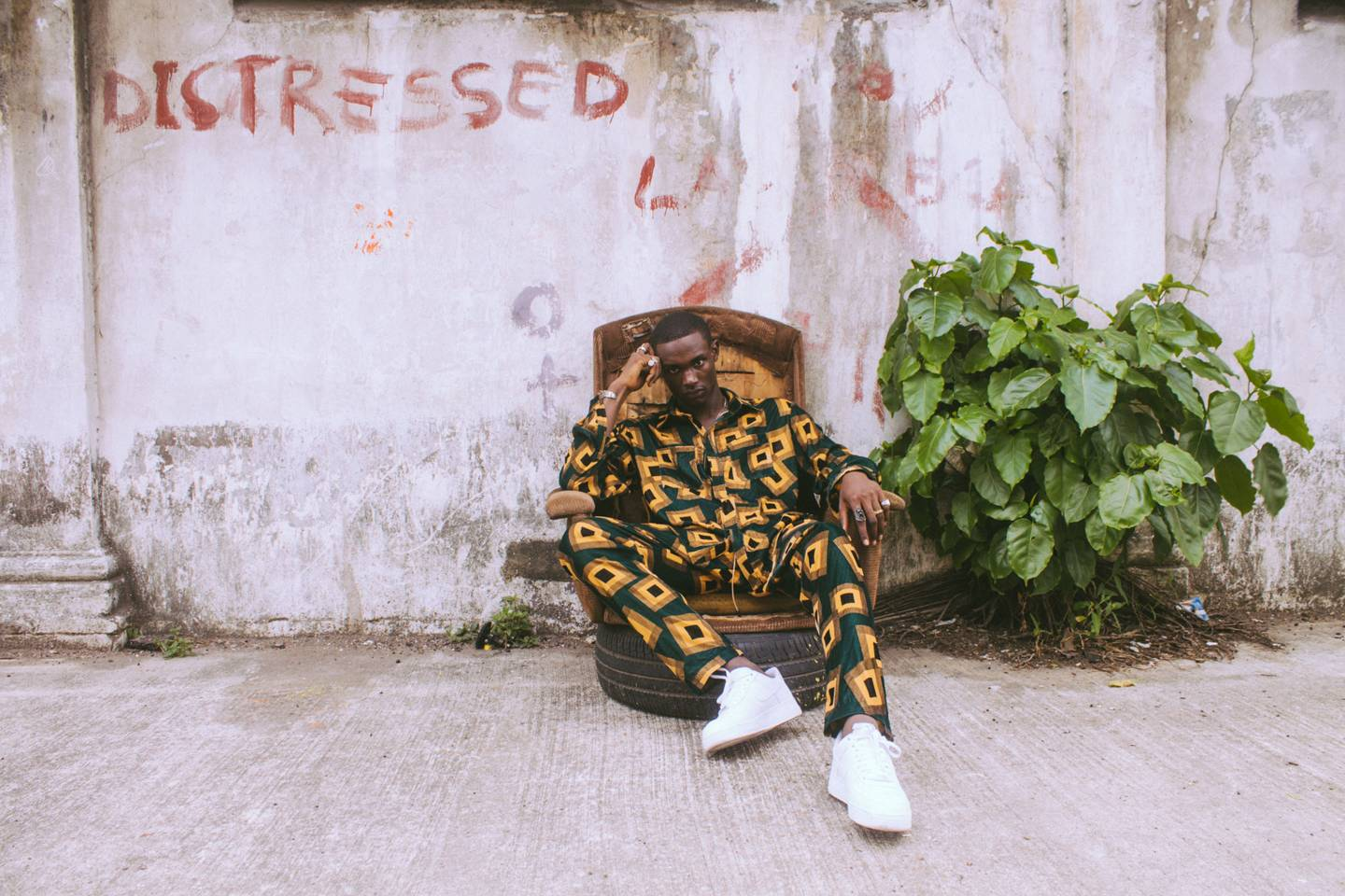 Tinie Tempah Uses Lagos as Inspiration for a Last-Minute What We Wear Collection