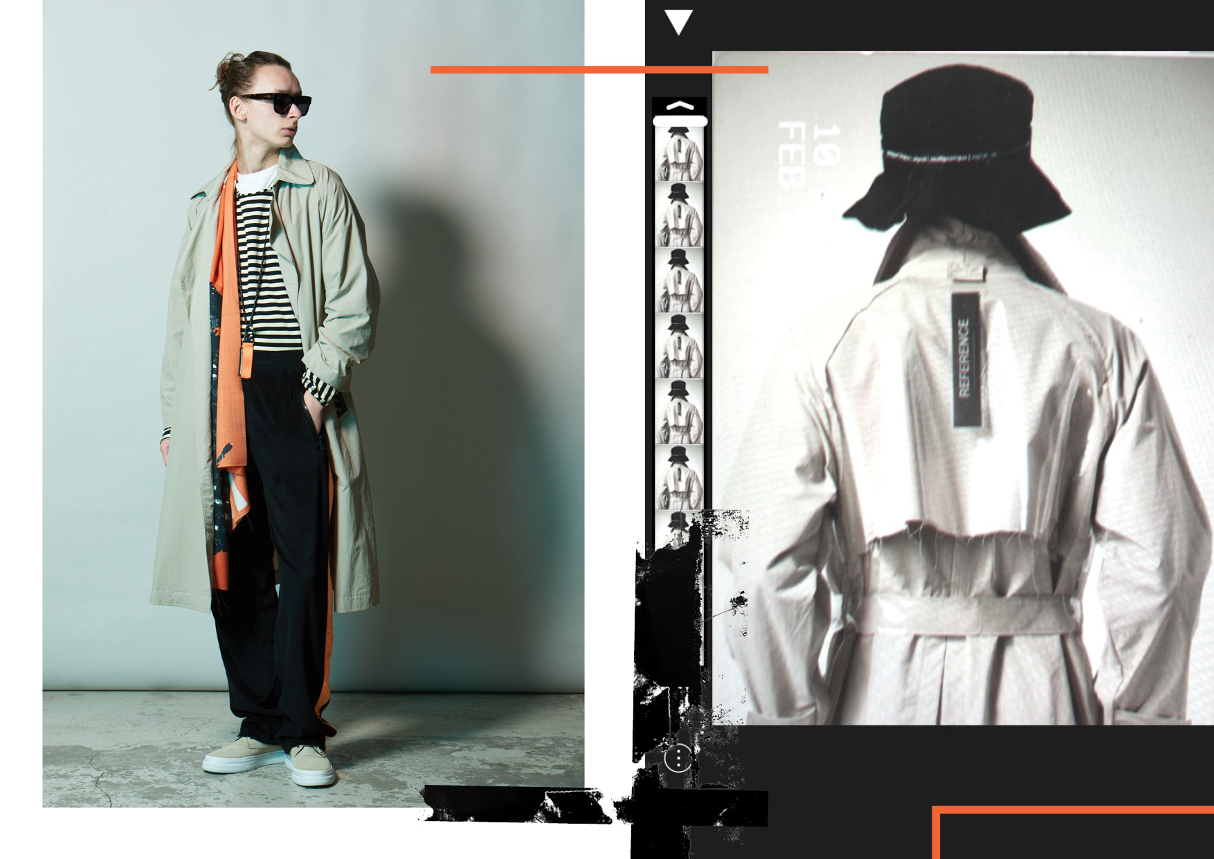 View Tourne De Transmission's SS18 Lookbook Here