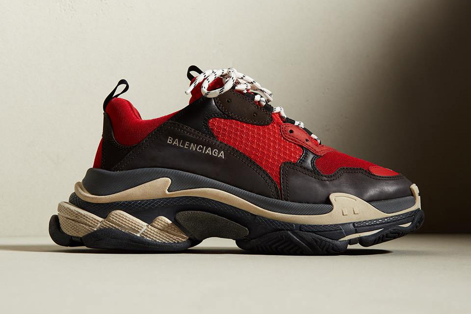 "The Balenciaga Triple S is Set Drop in a ""Bred"" Colourway"
