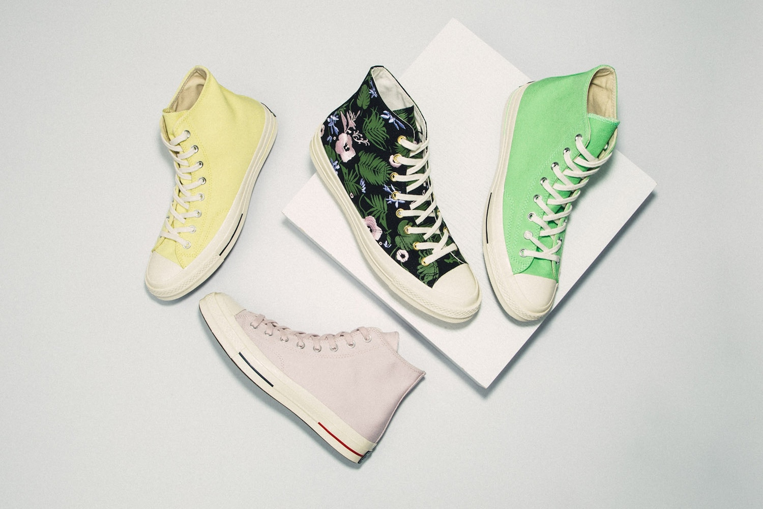 Converse Introduce Bright New Colourways for Summer