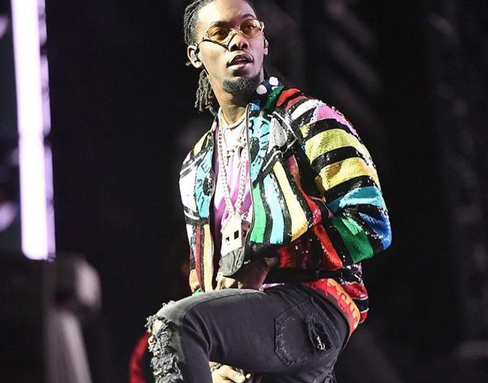 SPOTTED: Offset in Libertine Jacket & Alchemist Jeans