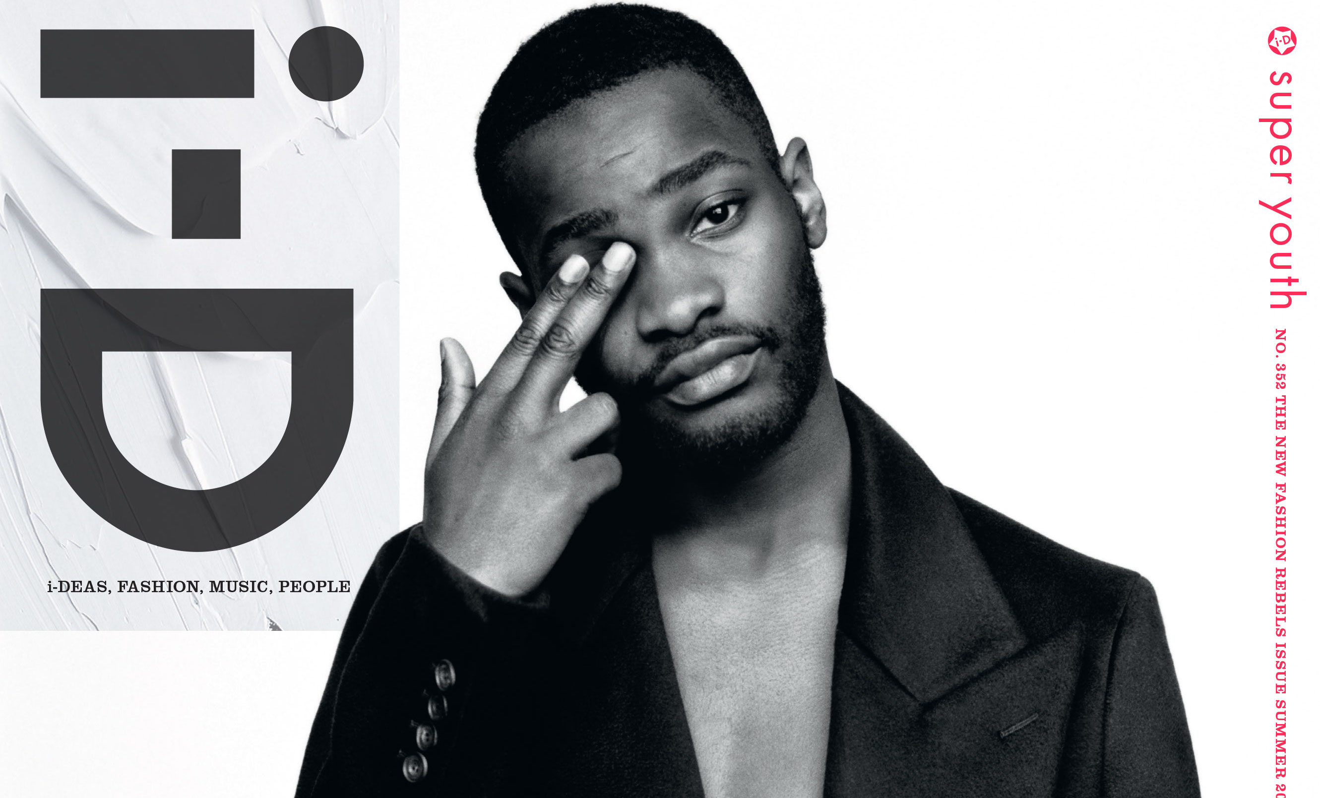 Dave Covers i-D's 'New Fashion Rebels' Issue