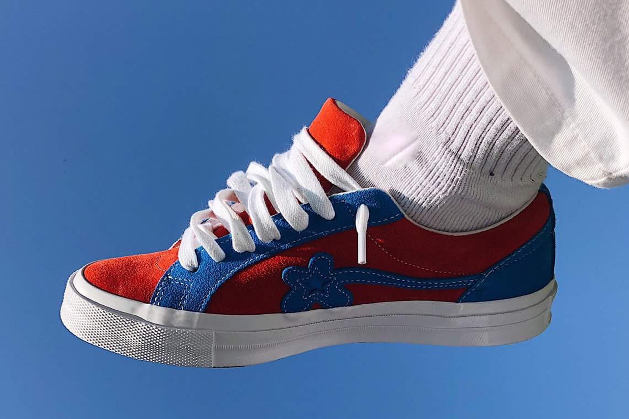 Sneaker Watch: GOLF le FLEUR* In Red & Blue Colourway
