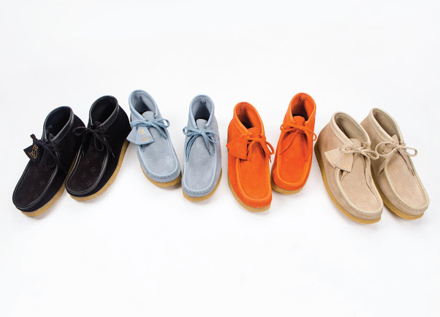 Limited Edition Drake OVO x Clarks Originals Wallabee Collection
