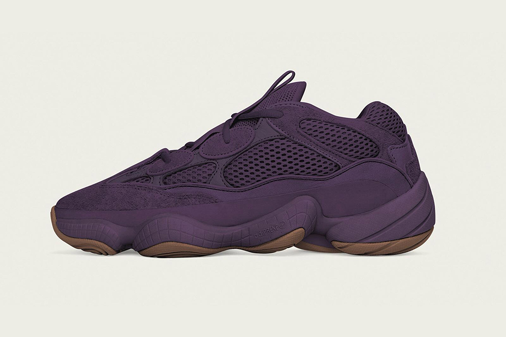 adidas YEEZY 500 in 'Ultraviolet'