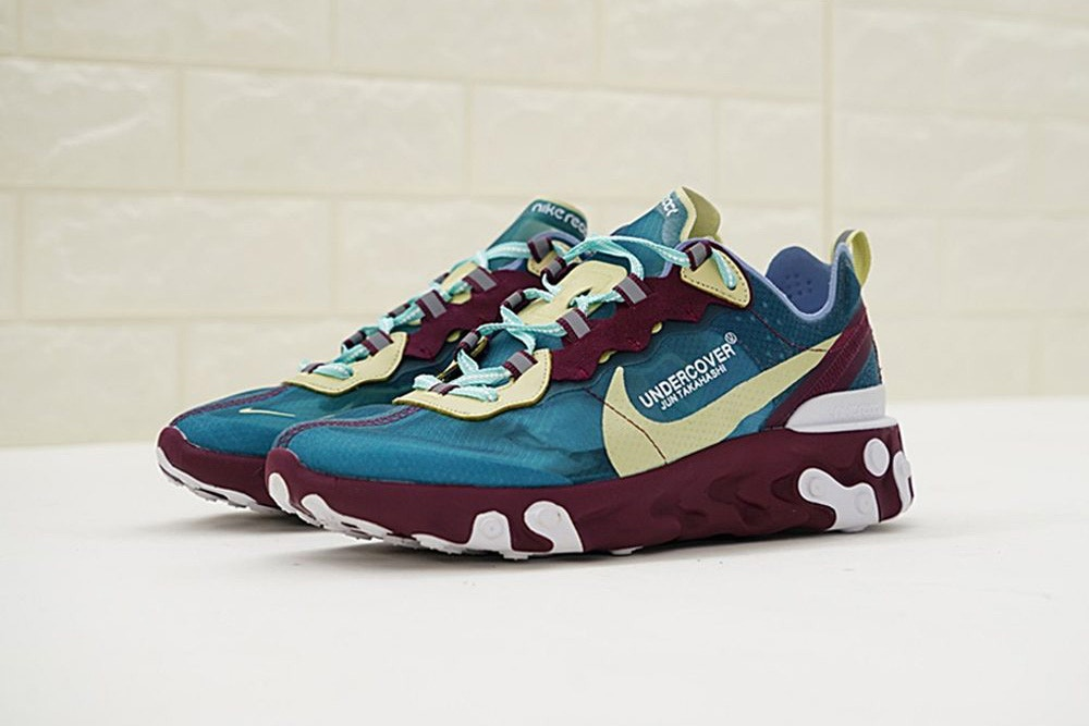 The UNDERCOVER x Nike REACT Element 87 Now has Five Colourways