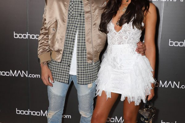 LONDON, ENGLAND - MAY 10:  Dele Alli and Ruby Mae attend boohooMAN by Dele Alli Launch at Radio Rooftop on May 10, 2018 in London, England.  (Photo by David M. Benett/Dave Benett/Getty Images for boohooMAN) *** Local Caption *** Ruby Mae; Dele Alli