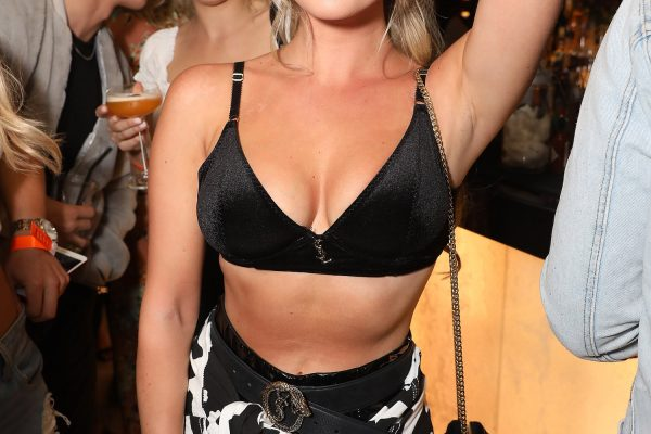 LONDON, ENGLAND - MAY 10:  Betsy-Blue English attends boohooMAN by Dele Alli Launch at Radio Rooftop on May 10, 2018 in London, England.  (Photo by David M. Benett/Dave Benett/Getty Images for boohooMAN) *** Local Caption *** Betsy-Blue English