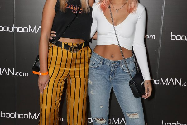 LONDON, ENGLAND - MAY 10:  Brittany Senescall and Lottie Tomlinson (R) attend boohooMAN by Dele Alli Launch at Radio Rooftop on May 10, 2018 in London, England.  (Photo by David M. Benett/Dave Benett/Getty Images for boohooMAN) *** Local Caption *** Brittany Senescall; Lottie Tomlinson