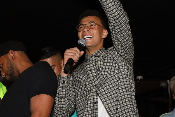 LONDON, ENGLAND - MAY 10:  Dele Alli speaks as boohooMAN by Dele Alli Launch at Radio Rooftop on May 10, 2018 in London, England.  (Photo by David M. Benett/Dave Benett/Getty Images for boohooMAN) *** Local Caption *** Dele Alli