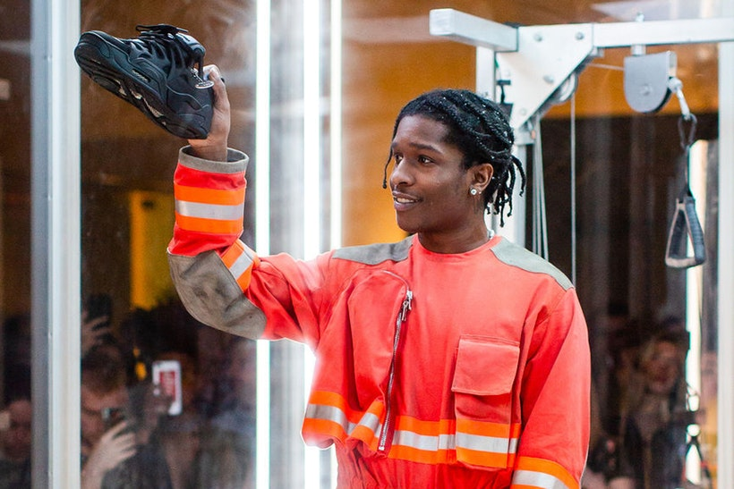 """A$AP Rocky Reveals Collaborative Under Armour Sneaker and """"Testing"""" Artwork"""