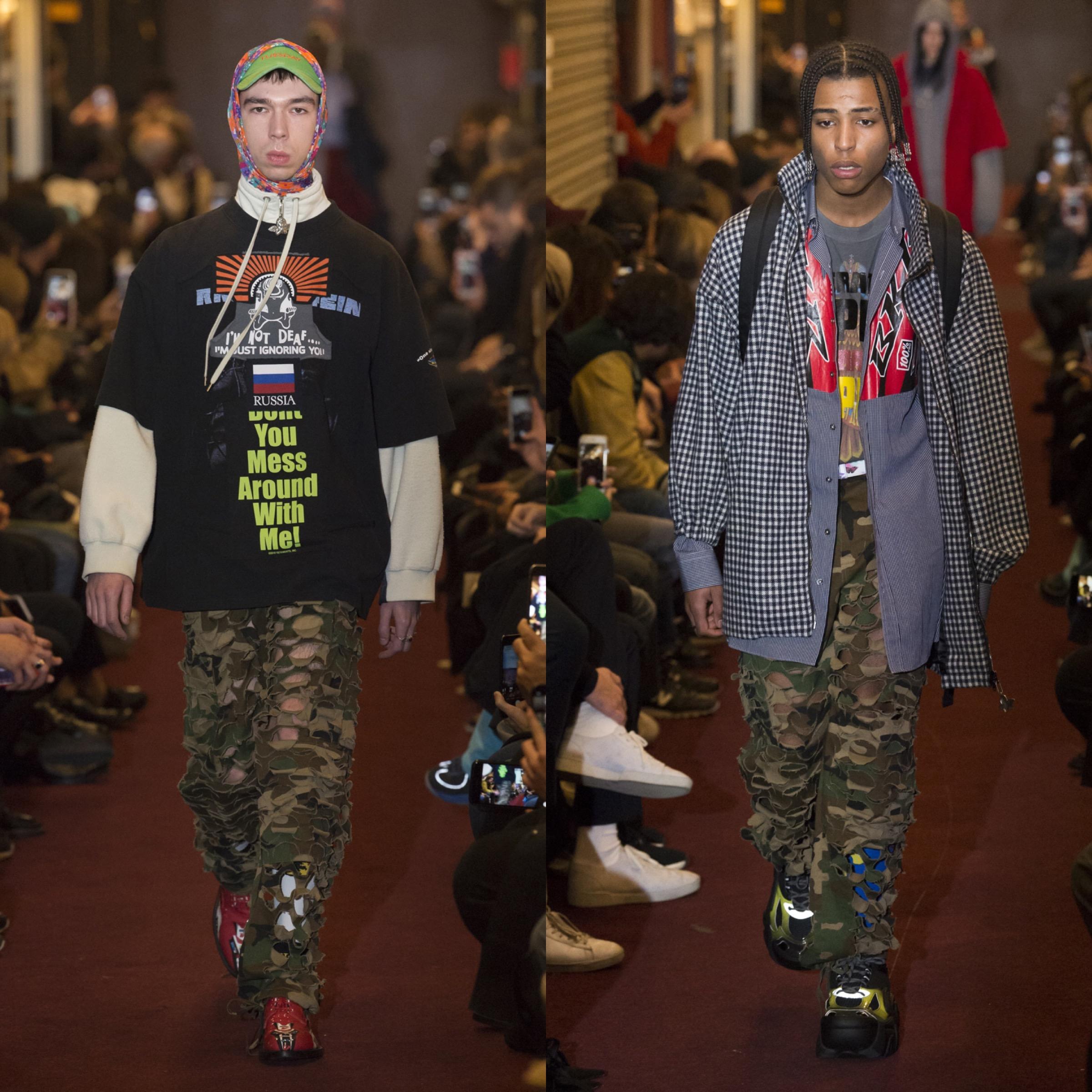 Vetements Set To Leave Paris Men's Fashion Week