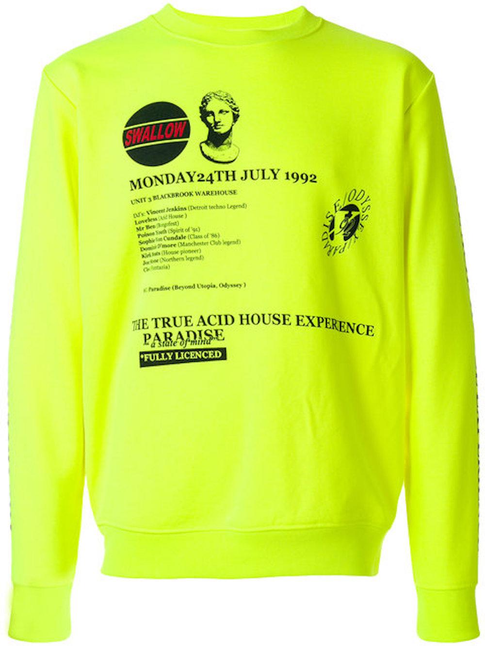 MCQ ALEXANDER MCQUEEN graphic print sweatshirt