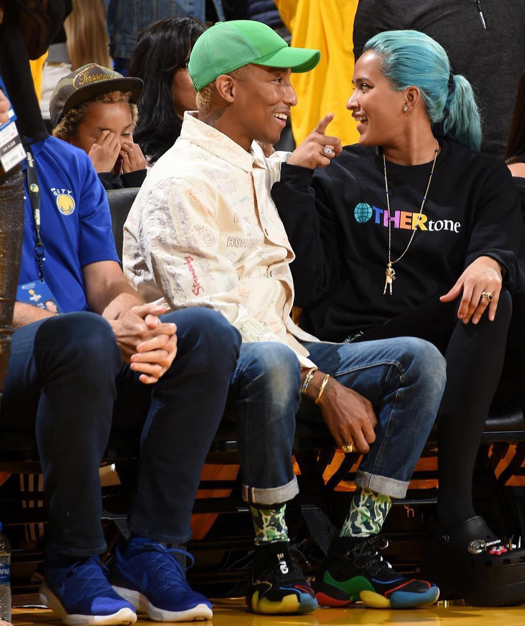 SPOTTED: Pharrell in Human Made and His Collaborative adidas Offerings