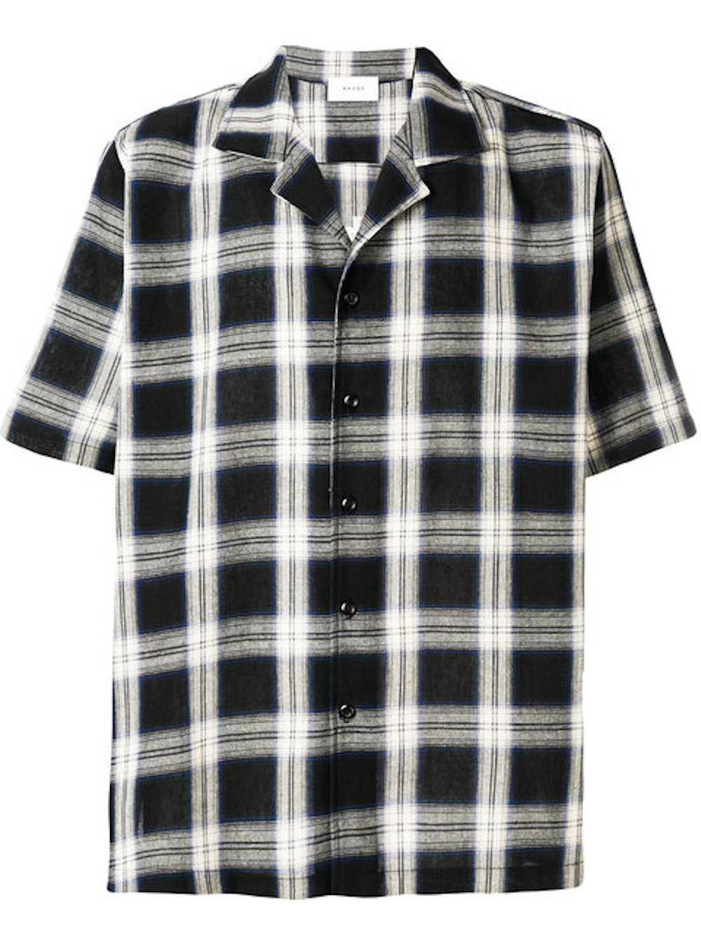 RHUDE Falling For You checked shirt